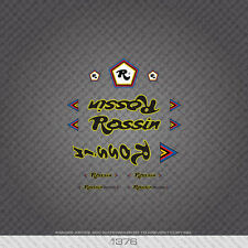 01376 Rossin Bicycle Stickers - Decals - Transfers