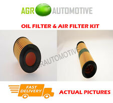 DIESEL SERVICE KIT OIL AIR FILTER FOR MERCEDES-BENZ CLC220 2.2 150 BHP 2008-11