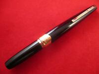 VINTAGE PLATINUM 18K BLACK COLOUR POCKET  FOUNTAIN PEN. C.1970´S. MADE IN JAPAN