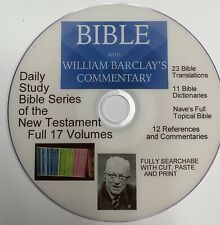 Barclay Daily Study Bible Series 17 Vols GOOD Mega Library Bibles Commentaries