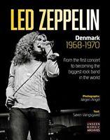 Led Zeppelin Denmark 1968-1970 9788797078020 | Brand New | Free UK Shipping