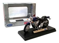 2002 YAMAHA ROAD STAR WARRIOR - 1:18 Die-Cast Motorbike Model by Welly - New