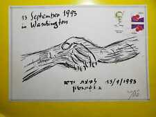 """ISRAEL SPECIAL FOLDER 1993 STAMPS EXHIBITION, LUAP  """"WITH LOVE"""