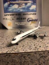 GJ LE 400 scale diecast model Universal DC-8-61 Commercial Airliner N803U