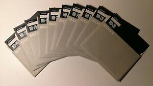 Sony Disketten 5.25 MD-2D (NOS) - 10 Stück