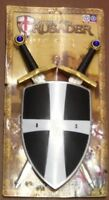 CHILDREN TOY PRETEND CRUSADER SHIELD SWORD PLAY SET HALLOWEEN DRESS UP BRAND NEW