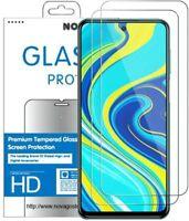Xiaomi Redmi Note 9   - 2 Films Protection Écran en Verre trempé