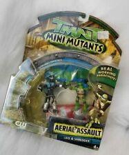 Teenage Mutant Ninja Turtles 2008 Figures Aerial Assault Leonardo & Shredder NEW