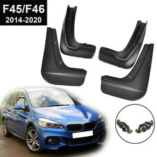 Front Rear Mud Flaps Splash Guards For BMW 2 Series F45 F46 Gran Active Tourer