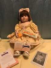 "Creamsicle *Carrie* Porcelain Doll By Flora Lee  19""  1998"