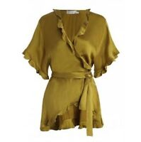 ZIMMERMANN | Sz 0 Aus 8 | Winsome Flutter Robe Top | Citrus