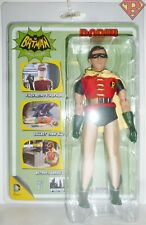 "ROBIN REMOVABLE MASK DC Batman Classic 1966 TV Series 8"" Clothed Figure 2014"