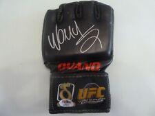 WANDERLEI Axe Murderer SILVA UFC Ouano V2 PSA MMA Glove Rizin Bellator Pride