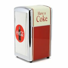 Retro Home Tablecraft Have A Coke Napkin Dispenser Vintage Design Decor Kitchen