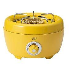 "Aladdin Portable gas cassette stove ""Hibarin"" Yellow Aladdin Portabli from JAPAN"