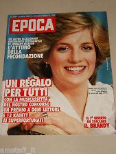 EPOCA=1983/1694=LADY DIANA COVER MAGAZINE=BRANDY LUOGHI ROMAGNA=MARIO DI BIASI=