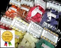 Wax Tarts Melts 200 pc Chunks NEW SCENTS Chips Cubes Bulk Home Candle Bundle Lot