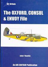 Oxford, Consul & Envoy File by John Hamlin Air-Britain NEW