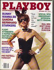 SANDRA BERNARD Playboy Magazine 9/92 Morena Corwin Betty Friedan