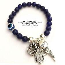 Silver Plated Sapphire Fashion Bracelets