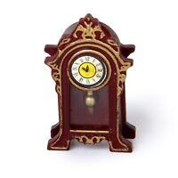 1/12 Dollhouse Miniature Halls Classic Table Clock M3C3