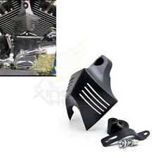 31053d66 Newest Horn Cover V-Shield Custom Blk For Harley Big Twins Stock Cowbell 92-