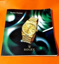 ROLEX OYSTER PRICE GUIDE 1996 BOOKLET - DATEJUST YACHT-MASTER GTM DATE SPANISH