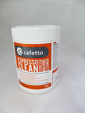 500g Cafetto Espresso Clean Coffee Maker Cleaner powder Back flush Eco friendly