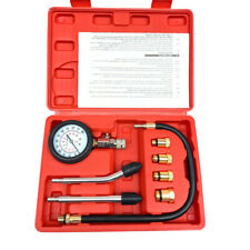 Cylinder Compression Tester Gas Petrol Engine Gauge Kit for Car Motorcycle