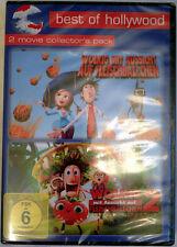 Wolkig mit Aussicht auf Fleischbällchen 1 + 2 NEU OVP deutsch englisch DVD