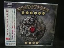 REVOLUTION SAINTS Rise + 2 JAPAN SHM CD + DVD Journey Night Ranger Dead Daisies