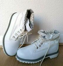 Women White  Timberland  Boots Size UK 5