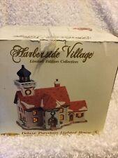 New ListingHarborside Village Limited Edition Deluxe Porcelain Lighthouse #9837949