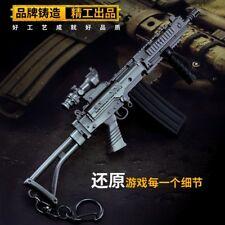 TOY 17cm/6.7in PUBG SA58 Para sniping rifle gun BattleField4 Battleground Metal