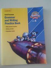 Reading Street Student Grammar & Writing Practice 4th Grade workbook  *NEW*  I2