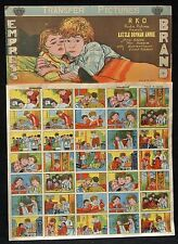 Vintage LITTLE ORPHAN ANNIE TRANSFER PICTURES - Empress Brand