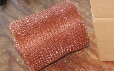 20 Feet Copper Mesh for Brewing Cleaning Pest Control 100% Copper Still Packing