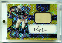 MICHAEL THOMAS 2016 Panini Select Gold Prizm Rookie RC Auto Jersey Patch SP 7/10