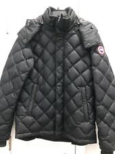 Canada Goose Hendriksen Black Slim Fit Quilted Down Coat Men's Sz M