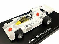 1/43 Maki F101 Test Car 1974 Resin Model Fomula Hiroshima Figure Hayami