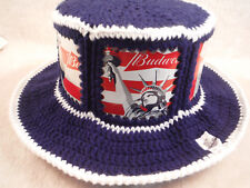 New Budweiser America & Liberty can Mosh-Up Original CanHeads Beer Can Hat