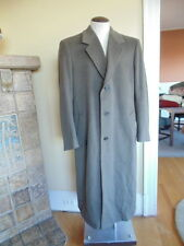 Jacob Siegal Loro Piano  Italian Lambswool Long Full Length Coat Mens Size 42L