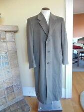Jacob Siegal Loro Piano  Italian Lambswool Long Full Length Coat Mens Size 42L