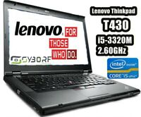 Notebook Lenovo Thinkpad T430 PORTATILE PC i5 3320M Senza Batteria, Alim, HDD RA