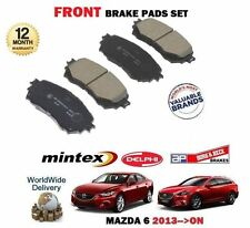 Para Mazda 6 2.0 2.2DT GJ 9/2012> en Adelante Juego de Pastillas Disco Freno
