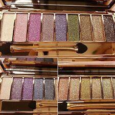 9 Colors Glitter Eyeshadow Eye Shadow Palette Beauty Natural Makeup Cosmetic Set