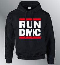 Sweat Shirt Hoodie Run DMC S M L XL XXL Man Group Music Rap Hip Hop Sweater