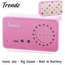 Trendz Portable Mini Speaker for iPhone/iPad/iPod/MP3 Player/Laptop Polka Dot