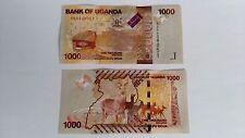 Uganda 1000 chelines 2015 P-49 Univer   S/C .