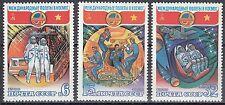 Su/CCCP n. 5052-5054 ** spaziale volo URSS-Vietnam